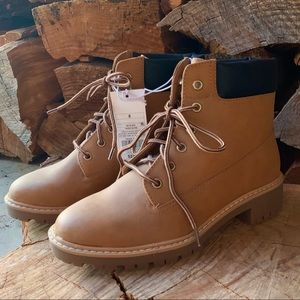 Beccalynn Lace Up Utility Winter Boots